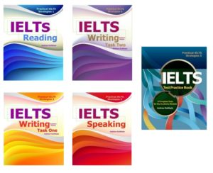 The Set of IELTS Books I Have Written