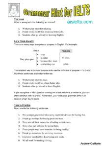 Grammar Hint 10