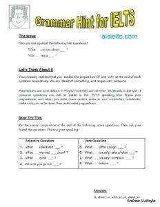 Grammar Hint 13