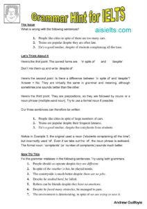 Grammar Tip 17