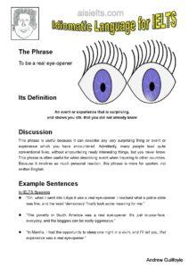 2. Idiomatic Use, eye opener-page-001