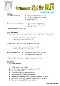 Grammar Hint 20