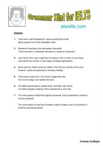Answers to Grammar Hint 24