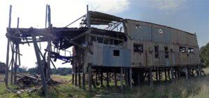 7. Derelict Mining building