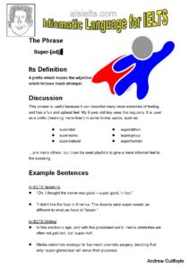 7. Idiomatic Use, super-page-001