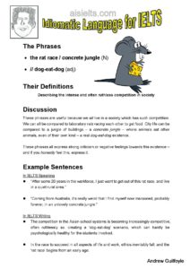 9. Idiomatic Use, the rat race-page-001