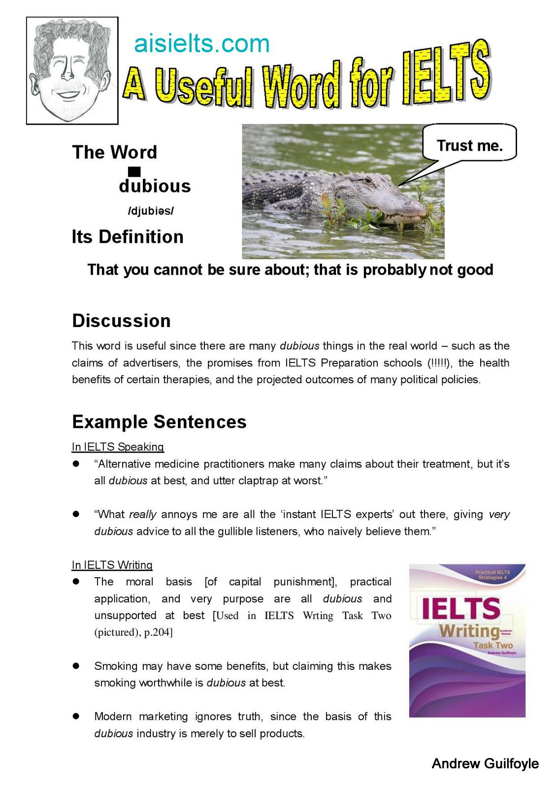 selected advanced vocabulary for ielts writing The topics in this book are general topics selected to help develop your academic vocabulary you should also read widely and become familiar with other topics and issues it is a good idea to read about topics that are less familiar to you, but still relevant for a general english test, like the ielts.