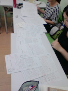 Now it's the last lesson of the IELTS Writing Task One class.